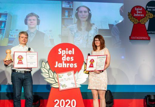 Cenu Spiel des Jahres 2020 získala hra Pictures