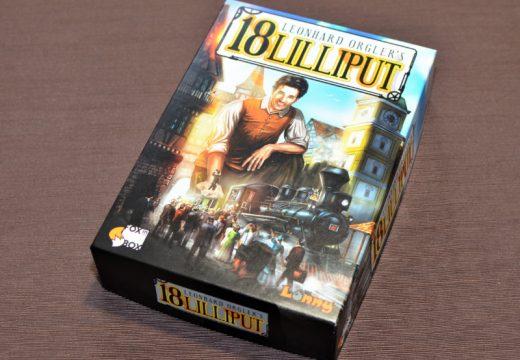 18Lilliput je přístupnější hra z řady vláčkových 18XX