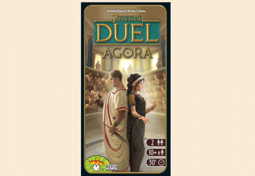 Rozšíření Agora zapojuje senát do hry 7 divů světa: Duel