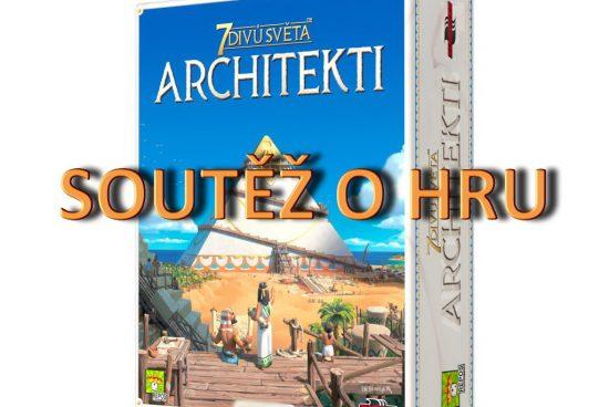 Soutěž o hru 7 divů světa: Architekti