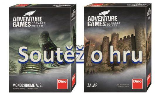 Soutěž o dvě hry Adventure Games: Žalář a Monochrome a. s.