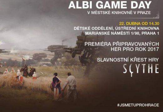 Pozvánka: Na Albi Game Day se 22. dubna bude křtít hra Scythe
