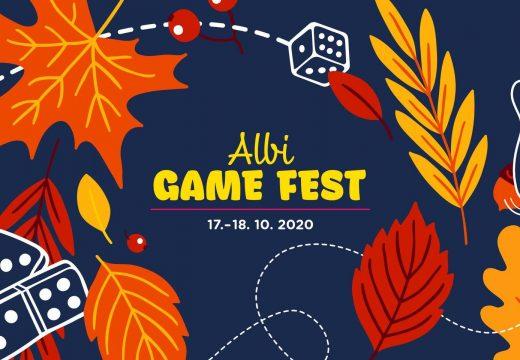 O víkendu 17.–18. 10. proběhne Albi Game Fest