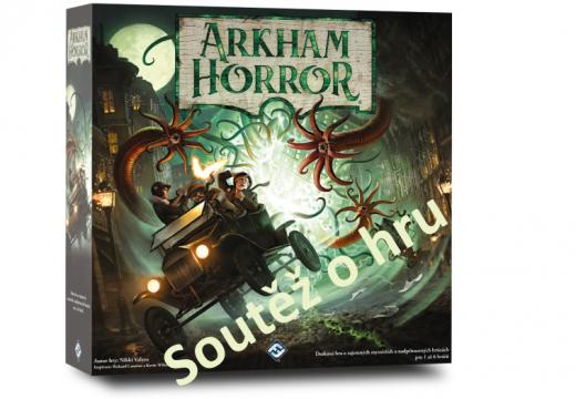 Soutěž o hru Arkham Horror 3. ed.