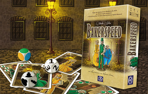 Na setkání autorů her v Rakousku zvítězila hra Bakerspeed