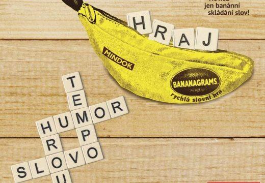 MindOK přinese rychlou slovní hru Bananagram