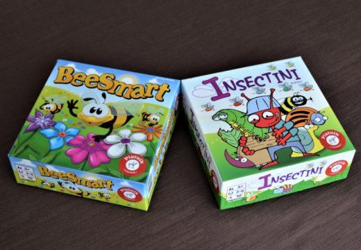 Ze života hmyzu aneb dvě rychlé postřehové hry od Piatniku