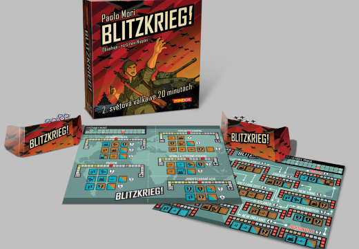 MindOK pro vás chystá válečnou hru Blitzkrieg