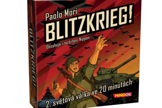 Blitzkrieg! je blesková válečná hra pro dva