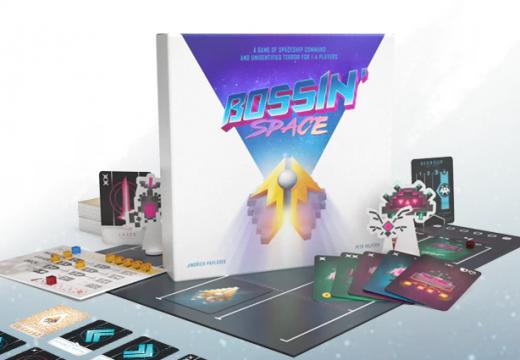 Na Kickstarteru je česká hra Bossin´ Space