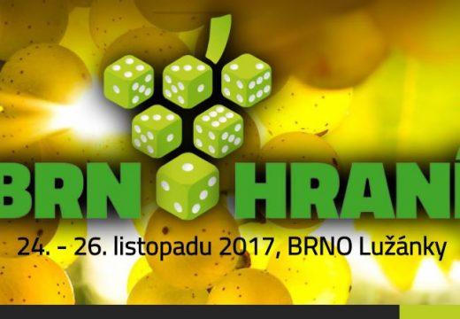 Pozvánka: Brnohraní vás přivítá 24.–26. listopadu
