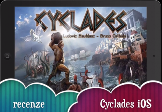 Videorecenze hry Cyclades pro tablety