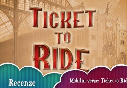 Videorecenze pro zájemce o mobilní verzi Ticket to Ride