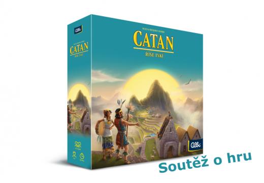 Soutěž o hru Catan: Říše Inků