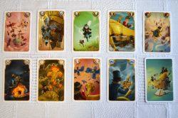 Všechny karty.