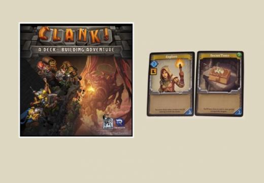 REXhry letos vydají fantasy karetní hru Clank!