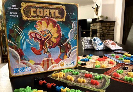 S hrou Coatl budete tvořit opeřené hady