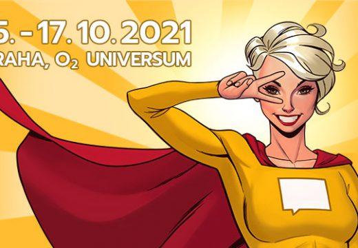 Comic-Con Praha 2021 se blíží, koná se 15.–17. října