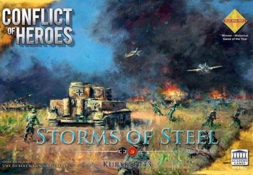 Liška chystá válečnou hru Conflict of Heroes: Storm of Steal