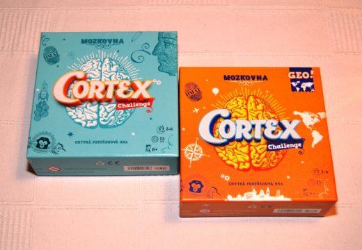 Cortex je postřehovka, která zapojí všechna centra vašeho mozku