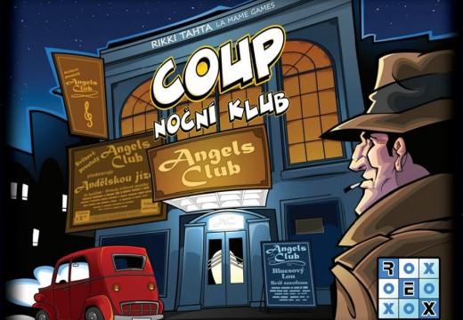 Vychází rychlá karetní hra Coup