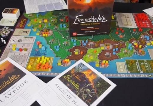 Deskofobie představuje hru Fire in the Lake