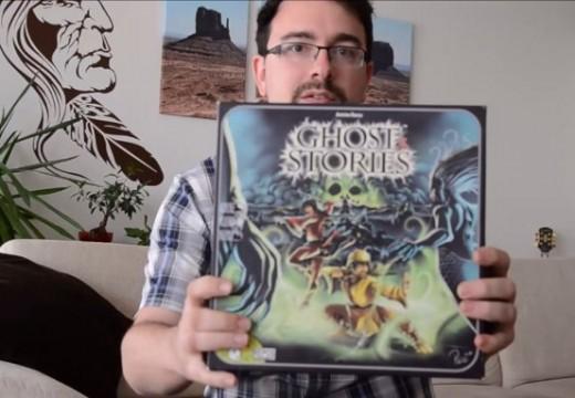 Videosehrávka hry Ghost Stories hráče Kubrta