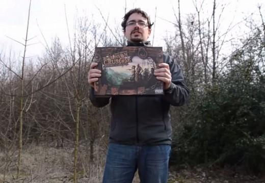 Videosehrávka Robinsona Crusoe hráče Kubrta