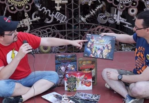 Deskofobie se věnuje hrám s komicsovou tematikou