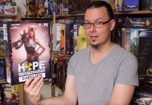 Deskofobie recenzuje karetní hru Hope