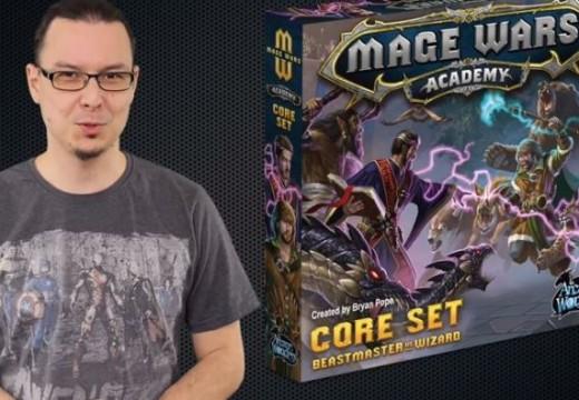 Deskofobie recenzuje hru Mage Wars Academy