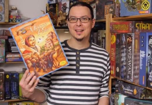 Deskofobie recenzuje hru Marco Polo