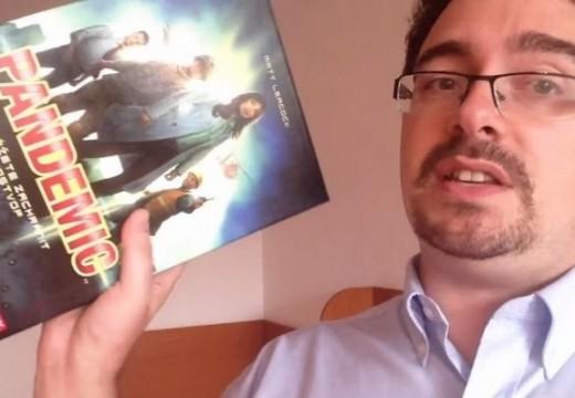 Deskofobie s hráčem Kubrtem se věnuje hře Pandemic