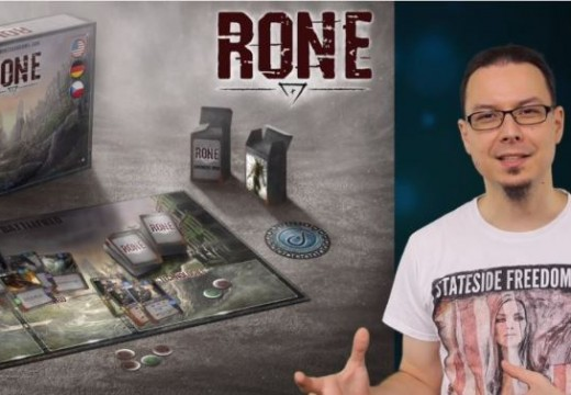 Deskofobie recenzuje karetní hru RONE