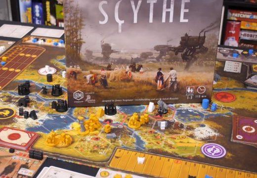Deskofobie představuje hru Scythe