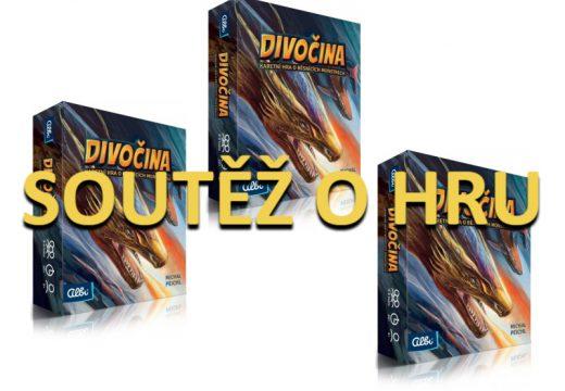Soutěž o 3 Divočiny