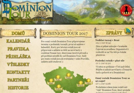 Zapojte se do Dominion Tour – 8. ročník jede