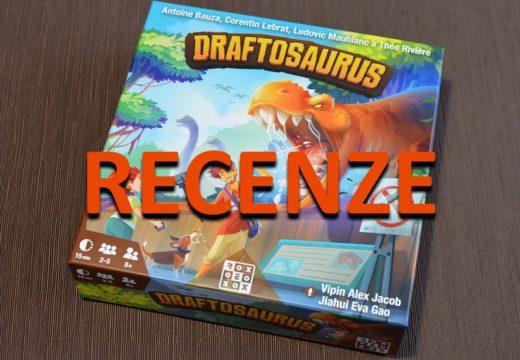 Recenze: Draftosaurus je rodinná draftovací hra s dinosaury
