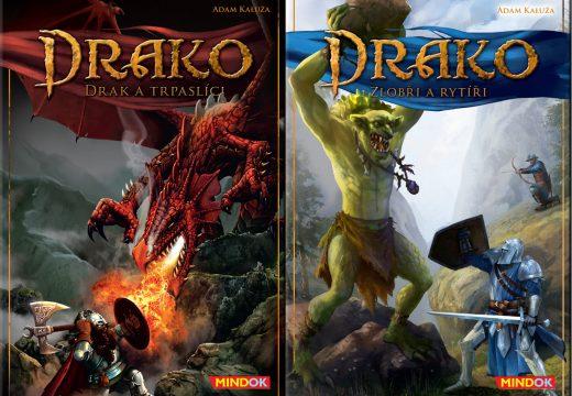 Drako přivádí draka, trpaslíky, zlobry a rytíře
