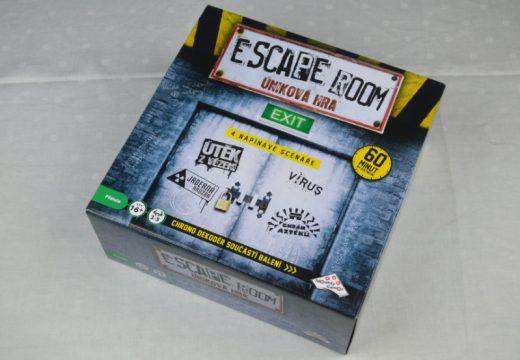 Vyzkoušejte Escape Room, únikovou hru u vás doma
