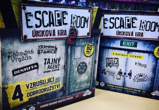 Blackfire již má únikovou hru Escape Room 2