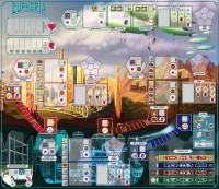 Ukázka herní desky hry Euphoria