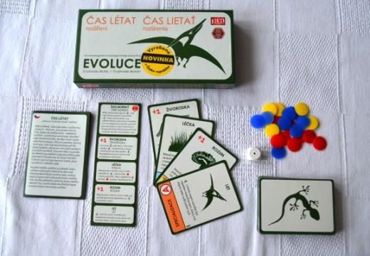 Evoluce se rozšířila o Čas létat