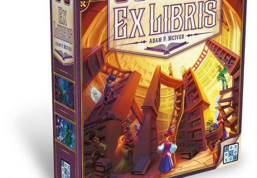 REXhry již mají skladem hru Ex Libris