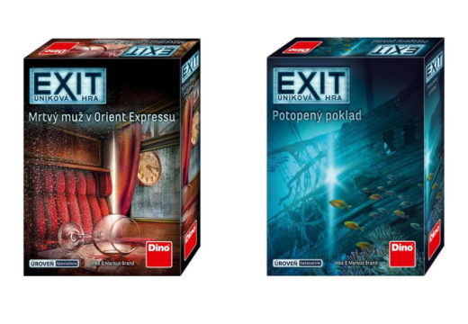 Dino má dva nové Exity