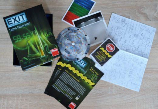Recenze: Exit: Úniková hra – Tajná laboratoř (bez spoilerů)