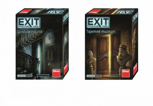 Nové Exity vás zavedou do Strašidelné vily a Tajemného muzea