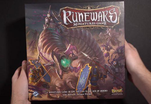 Deskofobie představuje hru Runewars Miniatures Game