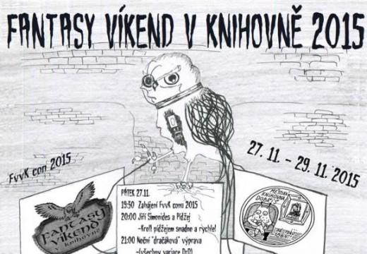 Pozvánka na Fantasy víkend v knihovně Dobříš
