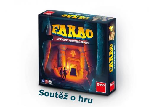 Soutěž o rodinnou hru Farao: Tajemství prastaré hrobky